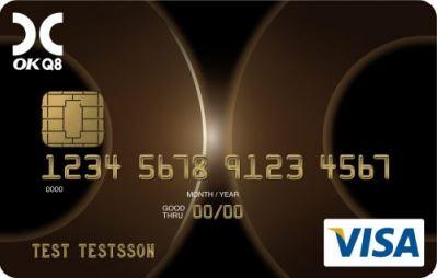 Kreditkort OKQ8 (VISA)