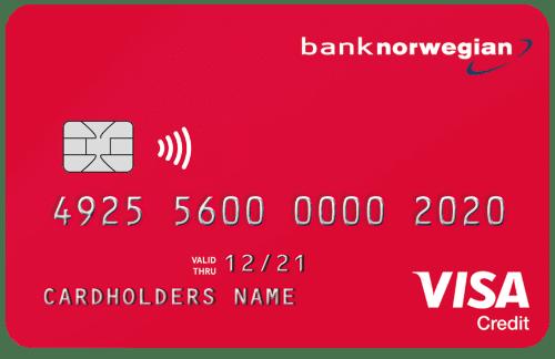 Kreditkort Bank Norwegian