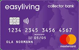 Kreditkort Collector Easyliving