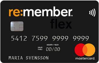 Kreditkort re:member flex